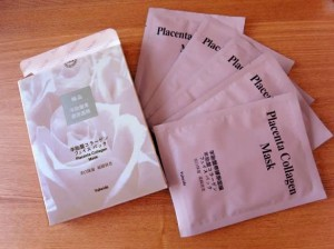 Yukeido Placenta Collagen Mask