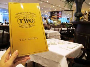TWG: TEA BOOK